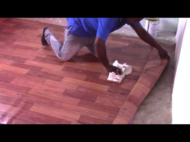 To Install Pvc Vinyl Sheet Flooring