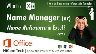 How to Create Edit Delete Name Reference in excel - Excel in Tamil