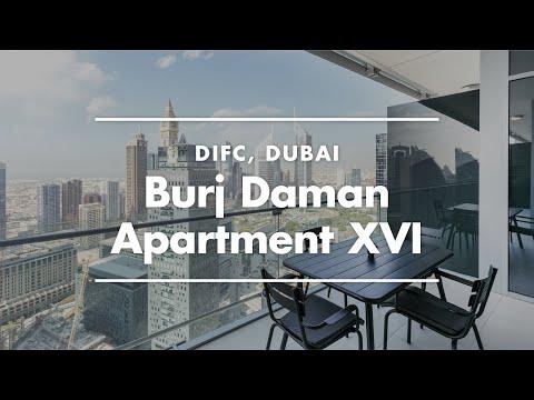 Dubai Serviced Apartment Tour | Furnished House In Burj Daman Tower, DIFC Dubai