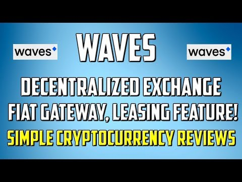 Waves Review - A decentralized exchange with leasing functionality !