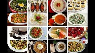 Турецкий ужин: суп из баклажан, стручковая фасоль, курица и макароны.