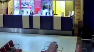 В Казани пятнашка проехала по аэропорту//Real gta
