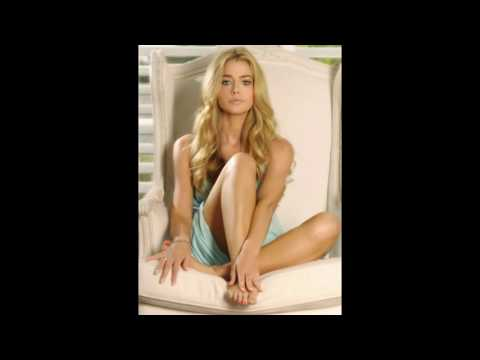 Denise Richards Shows off Her Bare Feet and Insane Long Legs