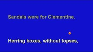 *Oh, My Darling Clementine - No Melody