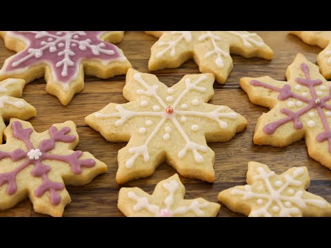 Snowflake Cookies Recipe How to Decorate Sugar Cookies