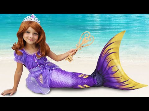 sofia-pretend-princess-&-playing-with-dolls,-makeup-for-little-princess