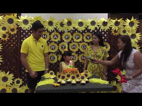 Kawaii Unicorn Vlog #35: Leanna's 7th Sunflower Party (May 30, 2018)