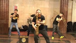 - Brevis Brass Band - Москва,почём звонят колокола.Ленинград кавер