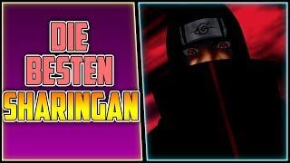 Die besten Sharingan-Fähigkeiten | Naruto