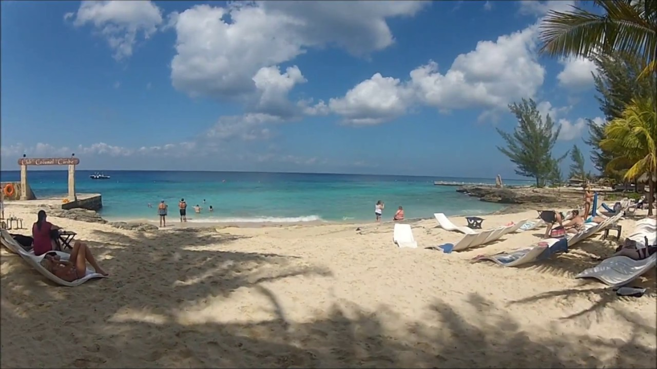 Beach Club Cozumel Mexico