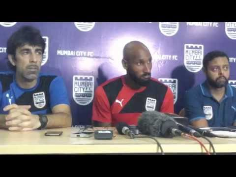 Indian Super League 2015 Mumbai City FC: Interaction with Nicolas Anelka