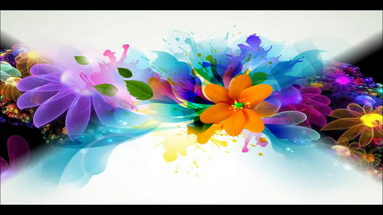 3d flowers wallpaper photo - youtube