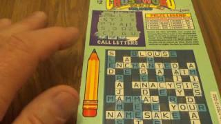 Cash Tripler + Crossword Lottery Puzzle Games