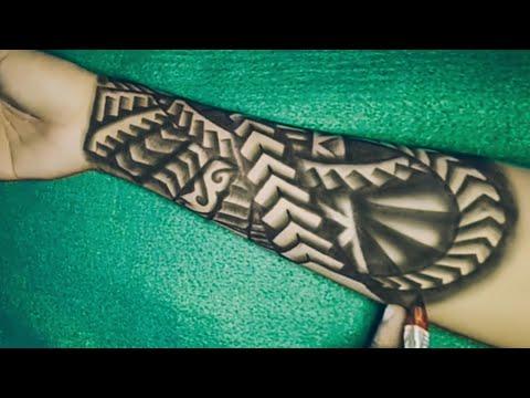 Tribal Boy Simple Tattoo Design Ideas Youtube