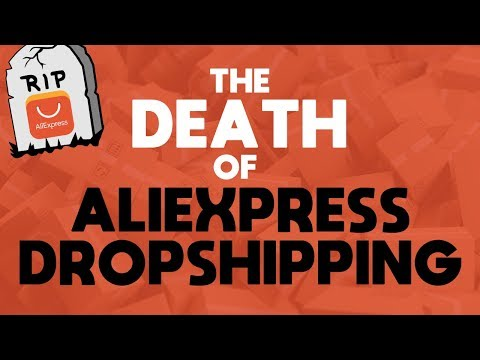 AliExpress might KILL your dropshipping store in 2019