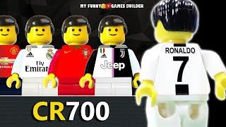CR7 • Cristiano Ronaldo 700 Career Goals in Lego Football Film [ CR700 ⚽]
