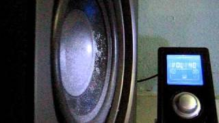Edifier S530D playing Bass I Love You by Basstronics
