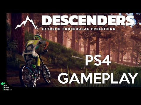 Descenders on PLAYSTATION 4: A first look at Highlands