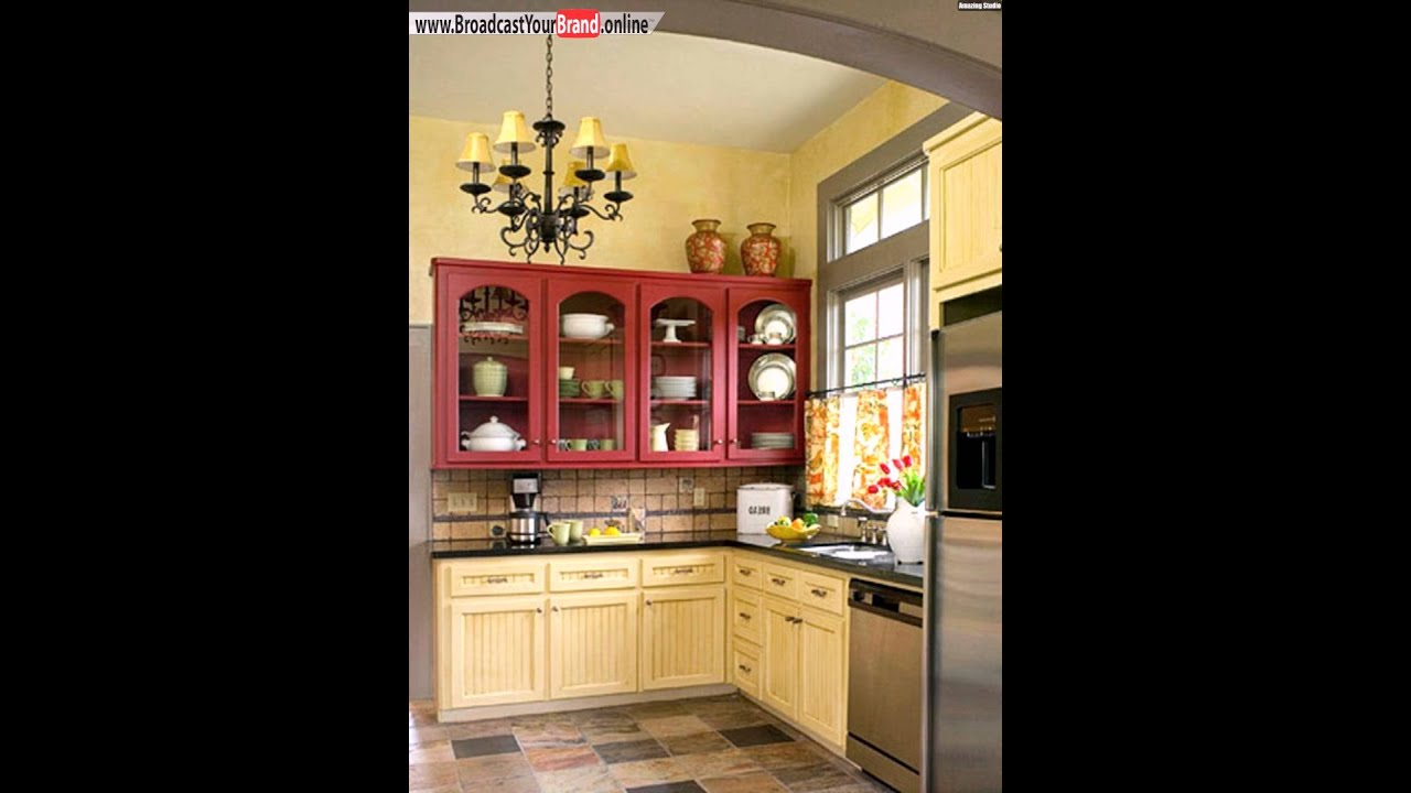 Landhausstil Küche Renovierung - YouTube