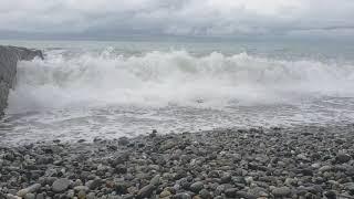 ШТОРМ каждые 10 мин разное МОРЕ. Шум морской волны. Зарядись энергией моря.