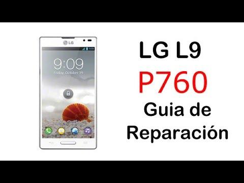 LG Optimus L9 P760 Desmontar y montar - Guía de reparación (disassembly and assembly)