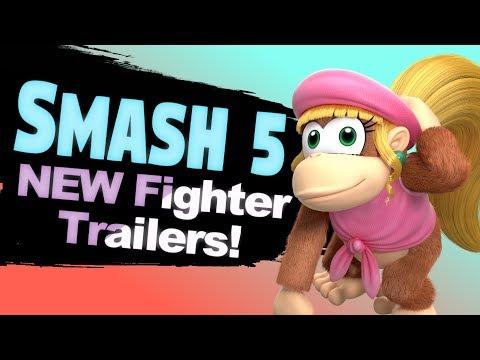10 Smash Bros 5 New Fighter Reveal Trailer Ideas!