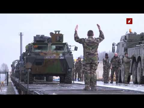 Heavy Equipment For French Troops Arrive In Estonia