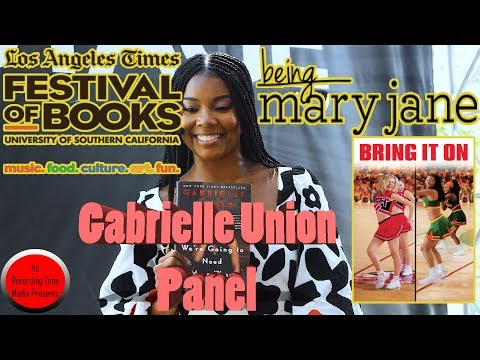 Los Angeles Times Festival Of Books 2018: Gabrielle Union Panel