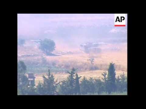 Israeli Tanks Cross Border Into Lebanon, Renewed Fighting