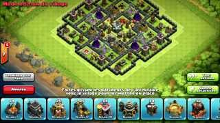 [Clash of Clans] On va faire comme ça HDV 9 - Propulseur d'air !