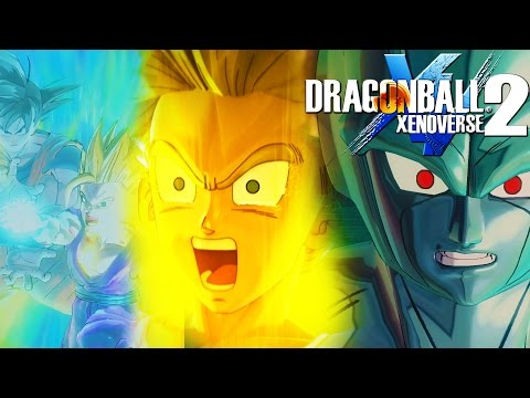 Dragonball Xenoverse 2 - Raged Trunks, Father-Son Combos and Fighting the Meta Coolers!