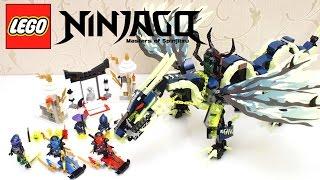 레고 닌자고 70736 모로 드래곤의 공격 LEGO NINJAGO 70736 Attack of the Morro Dragon Unboxing & Build 하하키즈토이