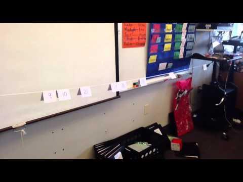 Kindergarten Number Line