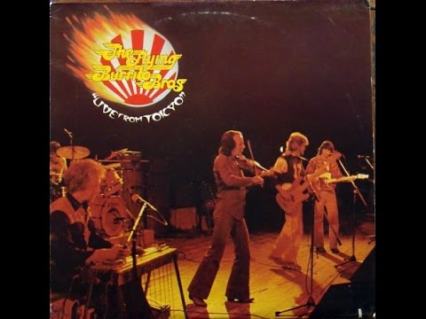 The Flying Burrito Brothers - Live In Tokyo 1979 Album (Full)