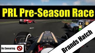 F1 2013 -Online League Race- PRL ASPC PS3 Pre-Season Race Brands Hatch