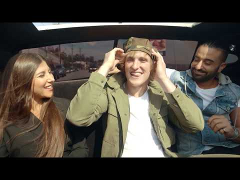 SPOTTED in LA: Kris Fade, Logan Paul and Habiba Basiony!