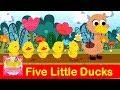 Download Five Little Ducks   Kids Songs   เพลงเด็กภาษาอังกฤษ เป็ด 5 ตัว MP3 song and Music Video