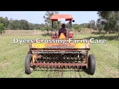 Minimal Tillage Pasture Seeding