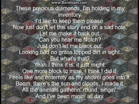 I found a Diamond lyrics (by BebopVox)