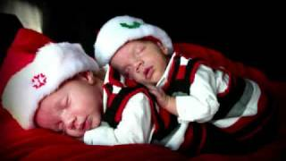 Christmas 2010 - Author Rosanne E. Lortz's Twin Boys
