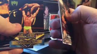 2018 Topps WWE Blaster Box Break and Review