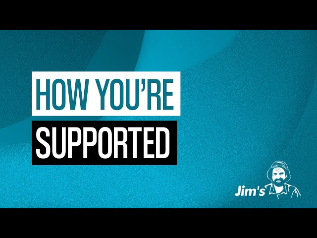 What support do regional frachisors recieve from Jim's? | 131 546 | www.jims.net