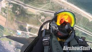 F-16 Cockpit Cam - PACAF Viper Demo - Matsushima Air Festival 2019