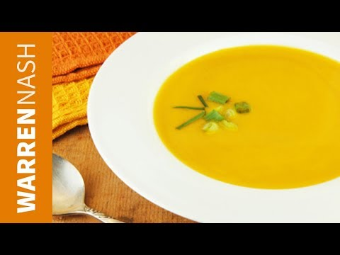 Butternut Squash Soup with just 5 ingredients Recipes from FitBrits.com