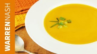 Butternut Squash Soup - with just 5 ingredients - Recipes from FitBrits.com