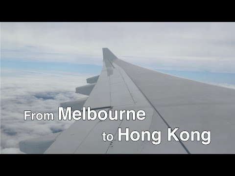 From Melbourne to Hong Kong Part 1