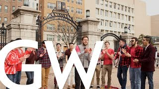 Valentine's Day Performance by Sons of Pitch, a GW A Cappella group