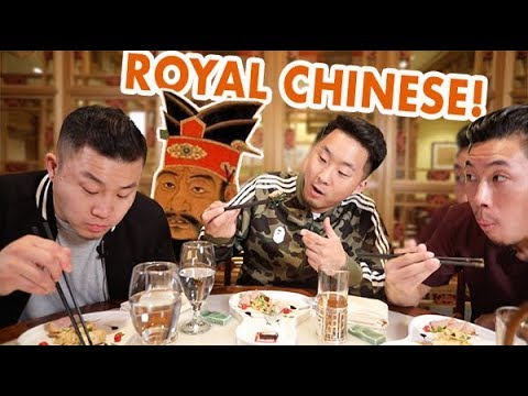 TRYING 200 YEAR OLD CHINESE FOOD FROM QING DYNASTY | Fung Bros