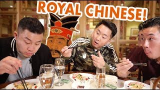 TRYING 200 YEAR OLD CHINESE FOOD FROM QING DYNASTY // Fung Bros