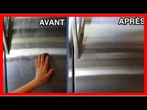 comment nettoyer l 39 ext rieur du frigo et enlever les. Black Bedroom Furniture Sets. Home Design Ideas